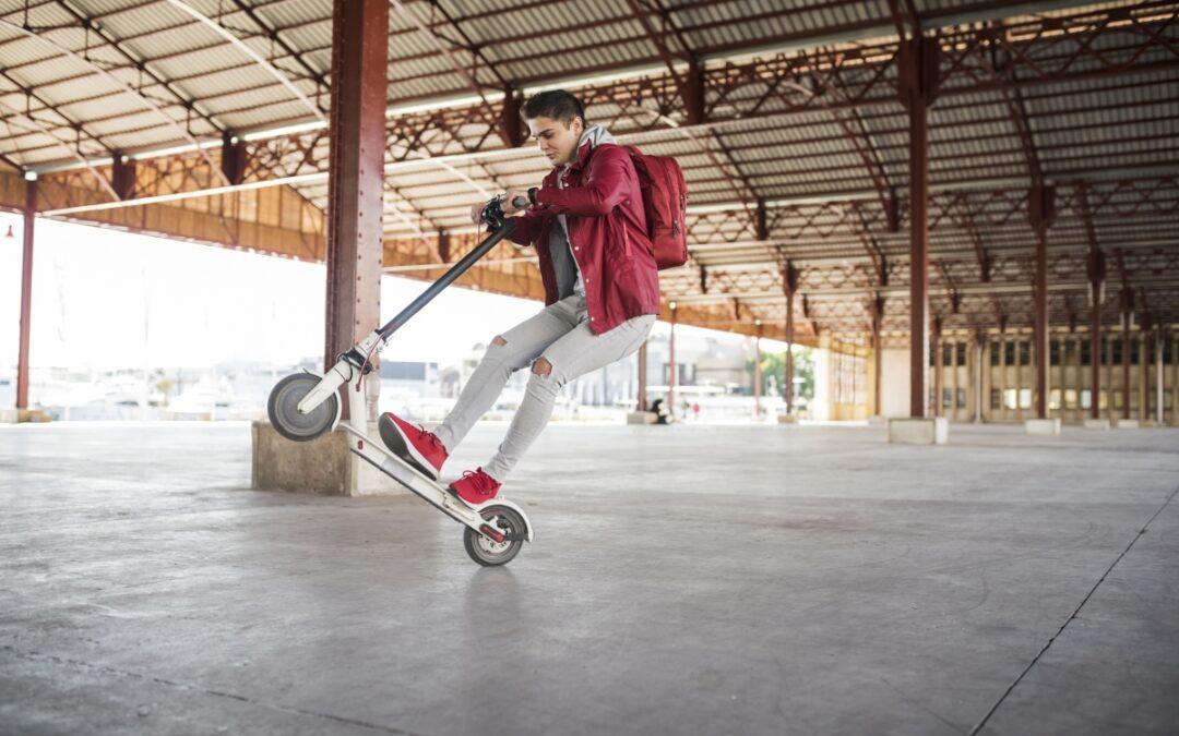 Lad dit barn opleve København fra et el-løbehjul